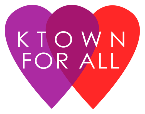 The KtownForAll logo.